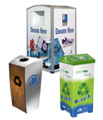 Customized Recycling Bin and Trash Cans