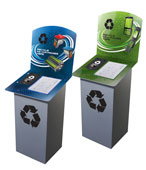 E Waste, Printer Cartridge & Cell Phone Recycling Bins