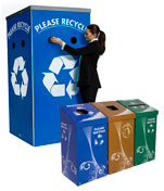 Event Recycling and Trash Bins