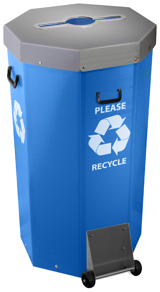 Megabin R Large Capacity Garbage Cans Recycling Bins And