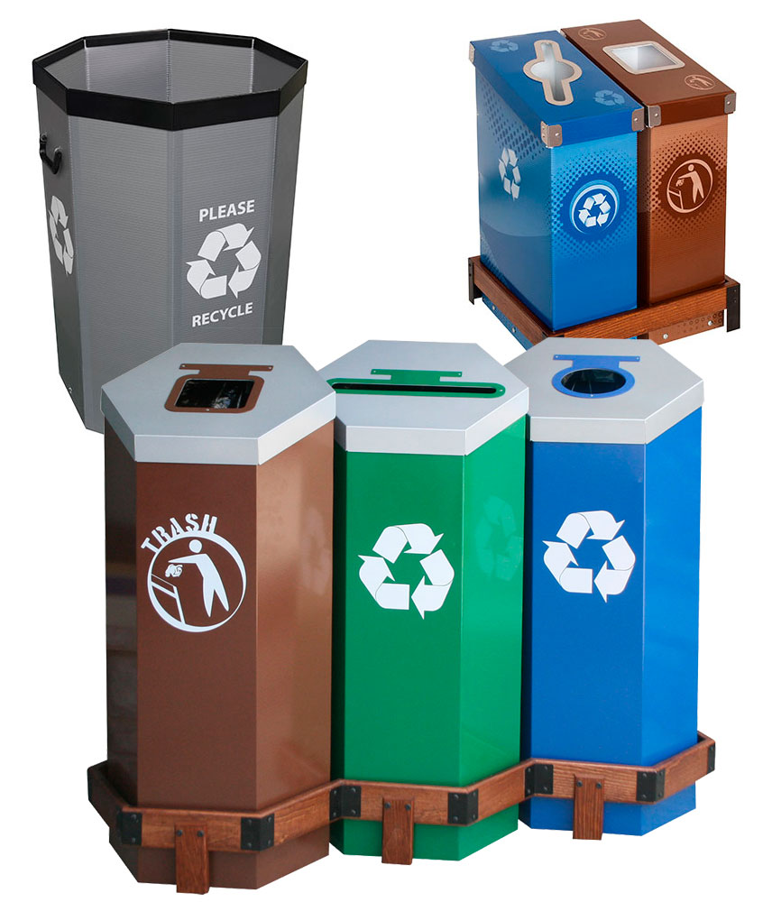 Federal Government, State and Municipal Collection Bins