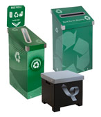 Paper, Newspaper & Magazine Recycling Bins