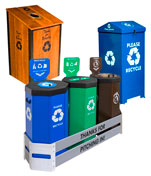 Parks, Recreation Facilities, Outdoor Recycling and Trash Bins