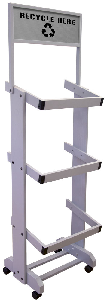 Binster™ III Wood Rack with Header