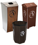 Trash Bins and Garbage Cans