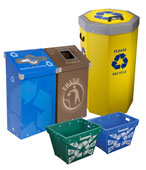 Recycling and Trash Bins for Universities, Classrooms & Campuses