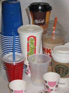 Disposable Cups- Recycling One Drink at a Time