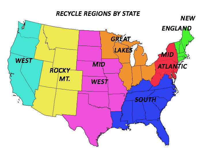 Blank Map Of The Northeast Region Of The Usa Blank Map Of The CDC - Us map colored by region