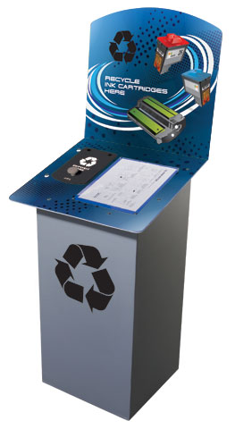 Print Cartridge Recycling Bin