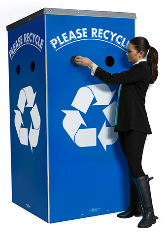 Event Recycling Kiosk