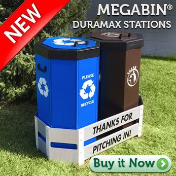 Megabin® DuraMax Stations 100 - 150 Gallon Capacity