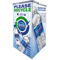 Aquafina Large Event Kiosk Recycling Bin
