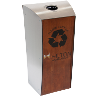 Hilton Evolution-40™ Recycling Bin