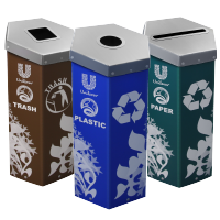 Unilever Hexcycle® Recycling Bins