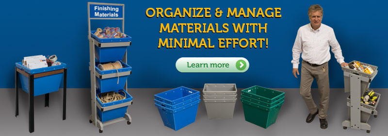 Material Handling Bins and Totes